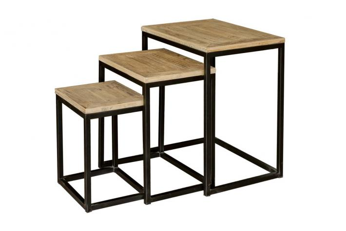 table basse gigogne tomeo design pas cher sur sofactory. Black Bedroom Furniture Sets. Home Design Ideas
