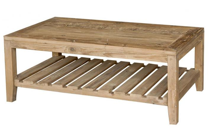 Table basse en bois tone design sur sofactory for Table de salon en bois