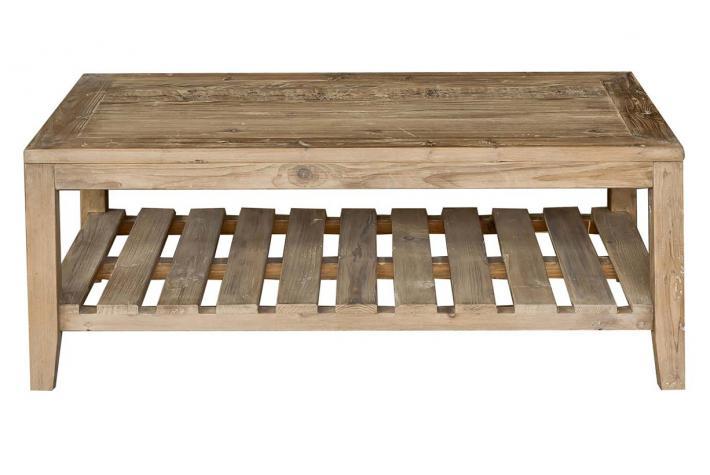 Table basse en bois tone design sur sofactory - Table basse bois exotique pas cher ...