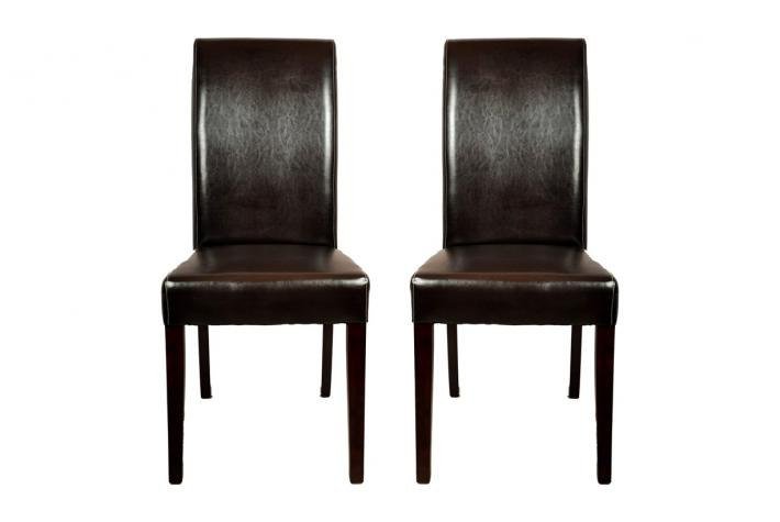 Lot de 2 chaises en cuir NEW CRILLON