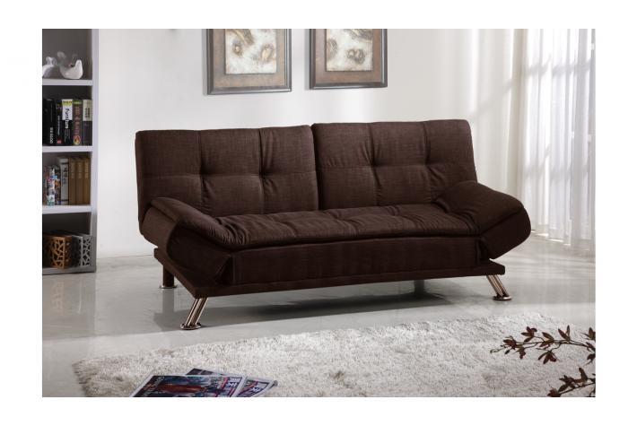 banquette clic clac subly chocolat design sur sofactory. Black Bedroom Furniture Sets. Home Design Ideas