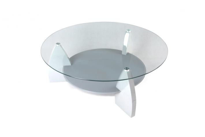 Table basse en verre kana design en direct de l 39 usine sur - Table moderne en verre ...