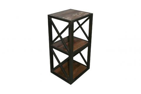 Tag re 3 niveaux en bois et m tal rivola design en direct for Architecture a 3 niveaux