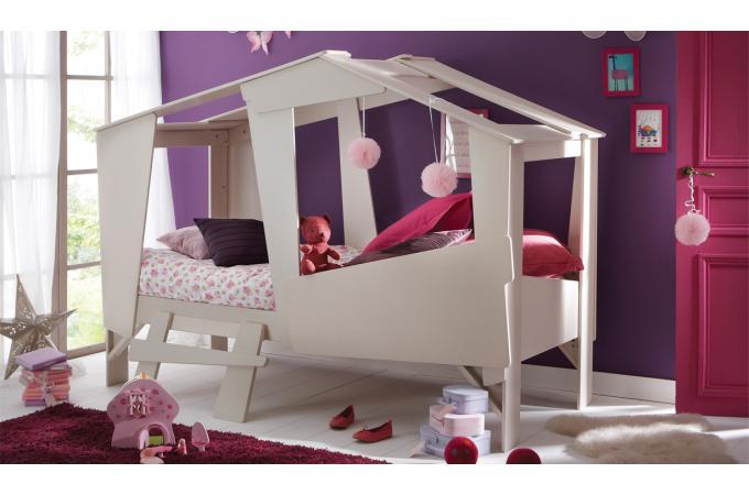 Lit 90 X 200 Cm Cabane Design Sur Sofactory