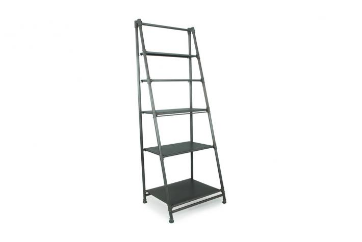 Etag re en m tal 5 compartiments ness design sur sofactory - Etagere metal design ...