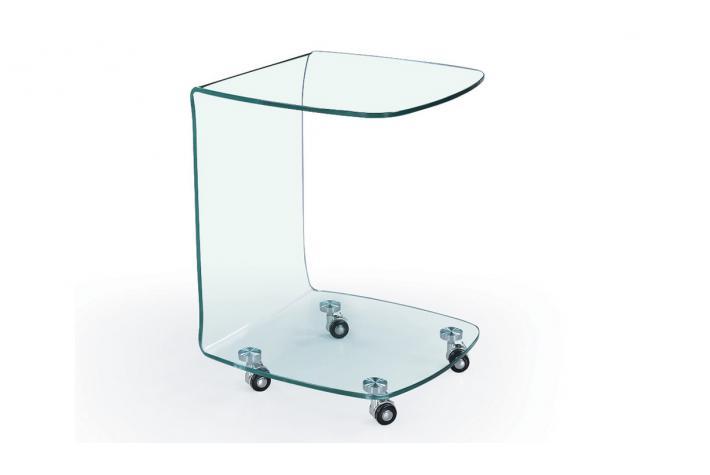 Bout de canap toby design sur sofactory - Table bout de canape en verre design ...