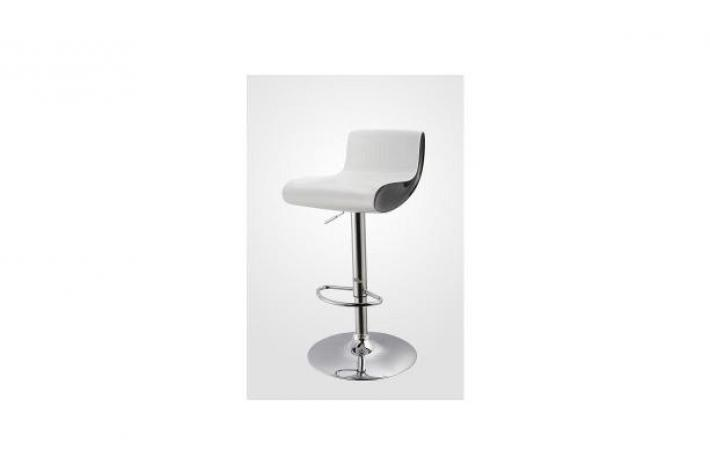 tabouret de bar pinky blanc et noir design sur sofactory. Black Bedroom Furniture Sets. Home Design Ideas