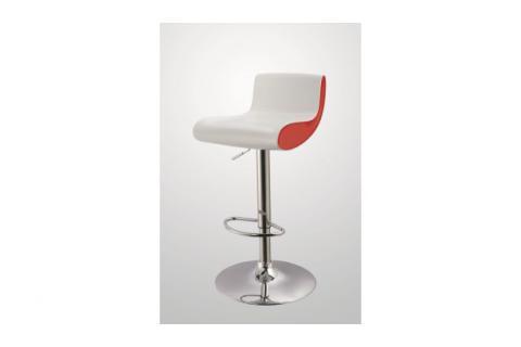 tabouret de bar pinky blanc et rouge design sur sofactory. Black Bedroom Furniture Sets. Home Design Ideas