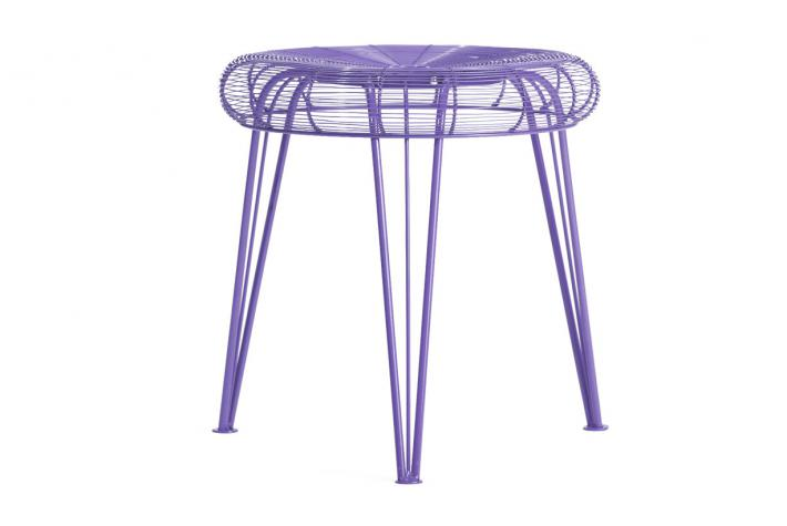 tabouret ventilo violet design pas cher sur sofactory. Black Bedroom Furniture Sets. Home Design Ideas