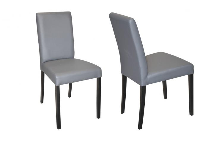 Lot de 2 chaises GALINA Gris SoFactory