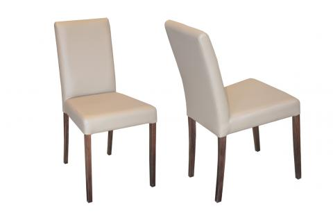 Lot de 2 chaises GALINA Taupe SoFactory