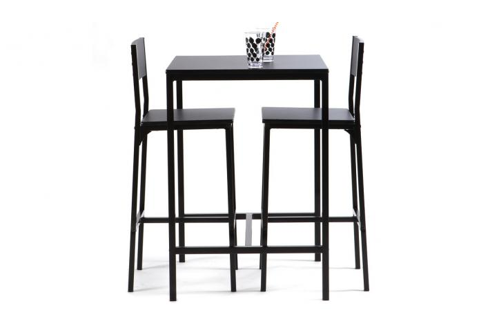 table haute avec 2 chaises funky design sur sofactory. Black Bedroom Furniture Sets. Home Design Ideas