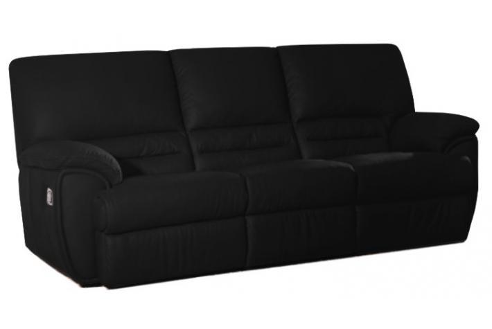 canap relaxation l ctrique 3 places cocoon design sur. Black Bedroom Furniture Sets. Home Design Ideas