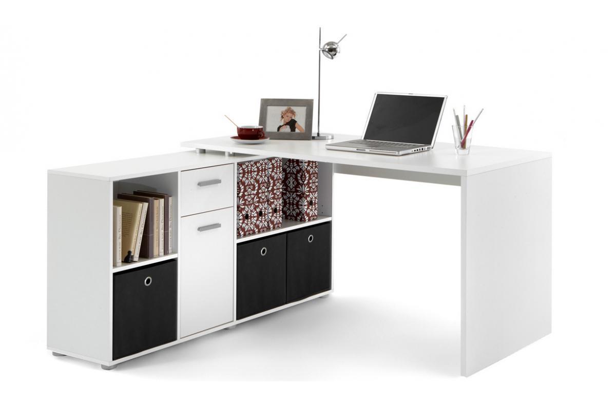 Bureau D Angle Reversible Rob Blanc Design Sur Sofactory