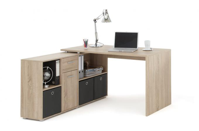 bureau d 39 angle r versible rob ch ne design sur sofactory. Black Bedroom Furniture Sets. Home Design Ideas