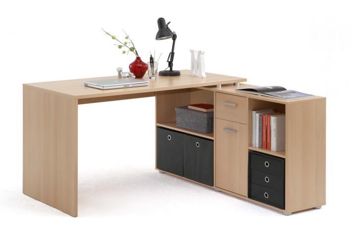 bureau d 39 angle r versible rob h tre design sur sofactory. Black Bedroom Furniture Sets. Home Design Ideas
