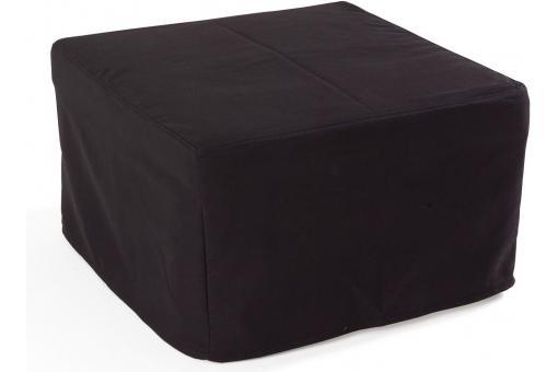 pouf lit en acier noir otello design en direct de l 39 usine. Black Bedroom Furniture Sets. Home Design Ideas