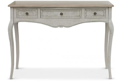 Console 3 tiroirs Gris TED