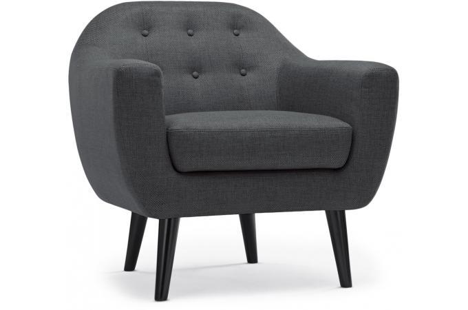 fauteuil scandinave fidelio tissu gris foncehy80411grisfonce 1 680x450 39 Beau Fauteuil Vert Pas Cher Kjs7