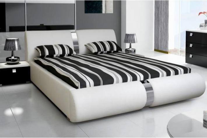 ensemble lit coffre sommier relevable blanc et matelas en mousse 160 x 200 zoe 2 design pas cher. Black Bedroom Furniture Sets. Home Design Ideas