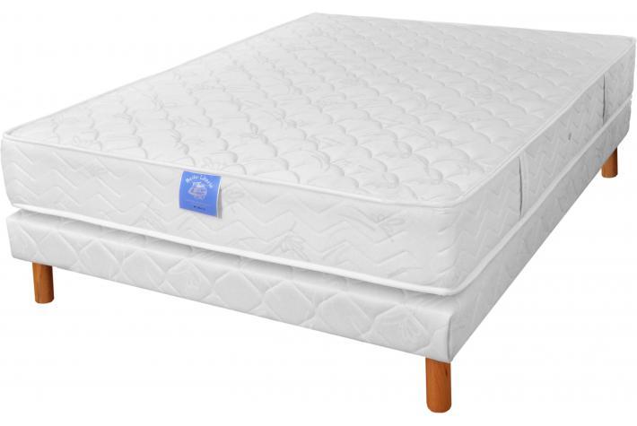ensemble matelas 140x190cm m moire de forme et sommier 140x190 original 2 design pas cher sur. Black Bedroom Furniture Sets. Home Design Ideas