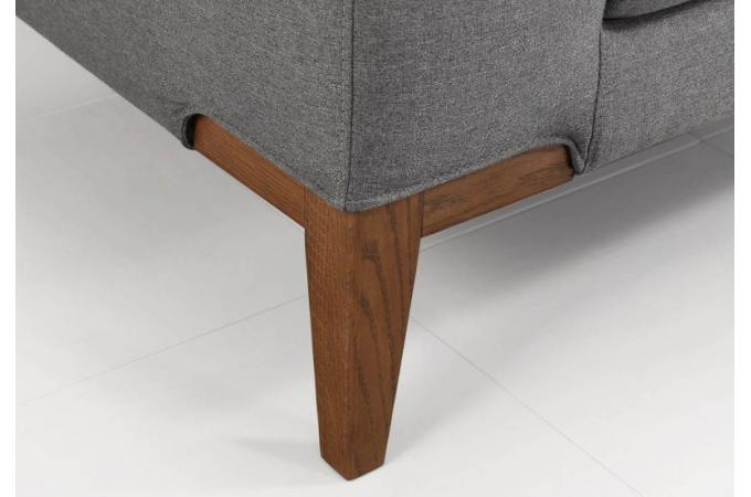 canap dangle gauche pieds en chne sergio - Pied De Canape Design