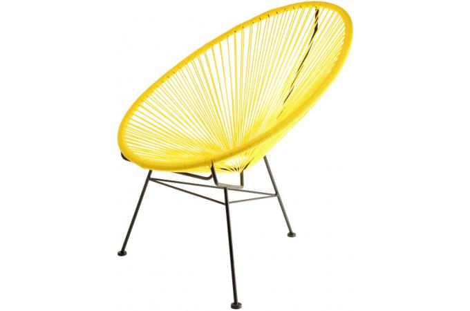 fauteuil design jaune zimaculto design sur sofactory. Black Bedroom Furniture Sets. Home Design Ideas