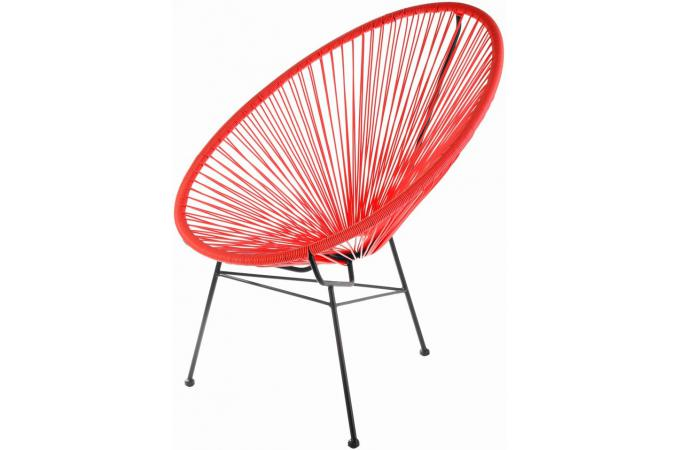 Fauteuil Zimaculto Rouge