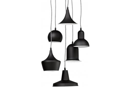 Suspension Multi Abat-Jour Coloris Noir BRUNELLA SoFactory