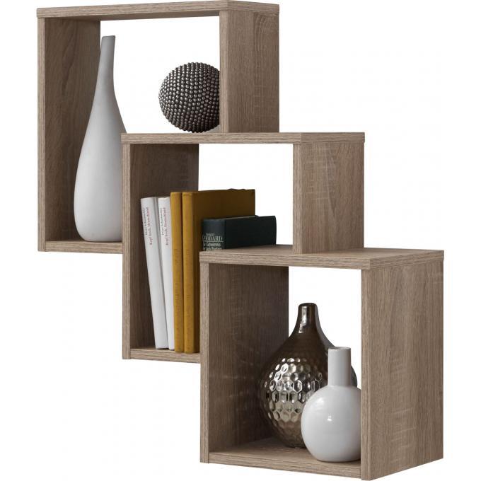 niche murale 3 cases ch ne betty design sur sofactory. Black Bedroom Furniture Sets. Home Design Ideas