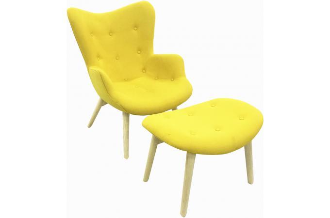 fauteuil de relaxation avec repose pied magik design pas cher sur sofactory. Black Bedroom Furniture Sets. Home Design Ideas