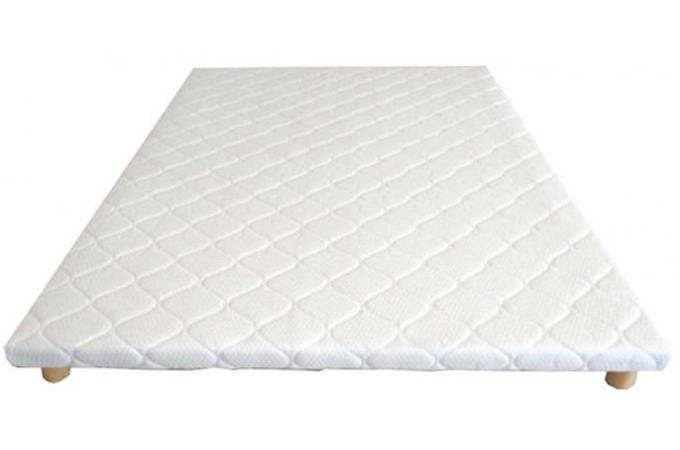 sommier tapissier extra plat 140x200cm auka design sur sofactory. Black Bedroom Furniture Sets. Home Design Ideas