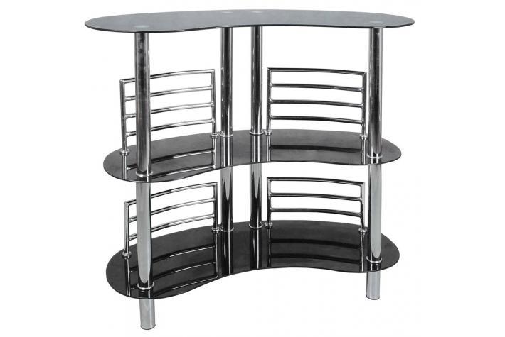 ensemble bar design et 4 tabourets de bar piloo design sur sofactory. Black Bedroom Furniture Sets. Home Design Ideas