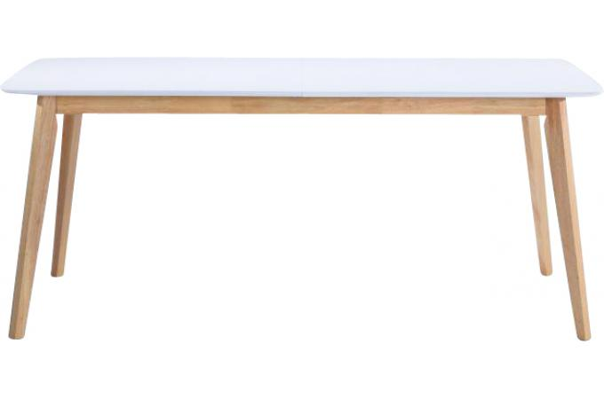 Table Scandinave Extensible Blanche 90x180 226 Chazz