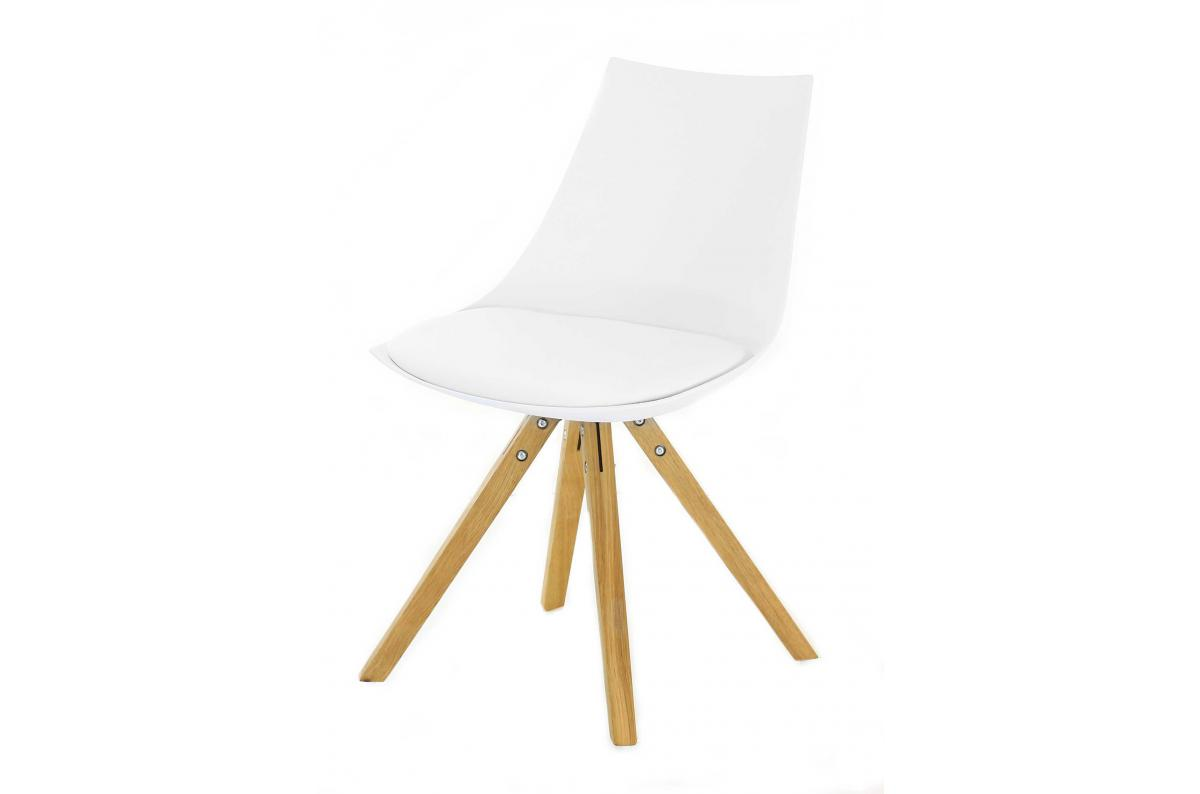 Chaise Scandinave Blanche MILAN SoFactory
