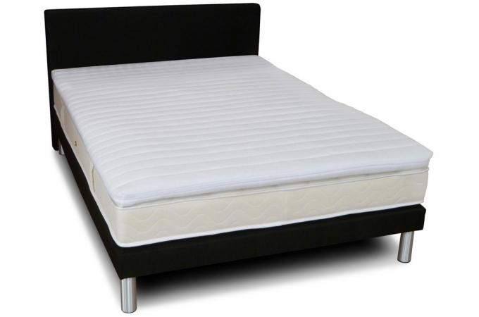 surmatelas en latex d houssable h 5 cm 140x190 cm oniri design sur sofactory. Black Bedroom Furniture Sets. Home Design Ideas