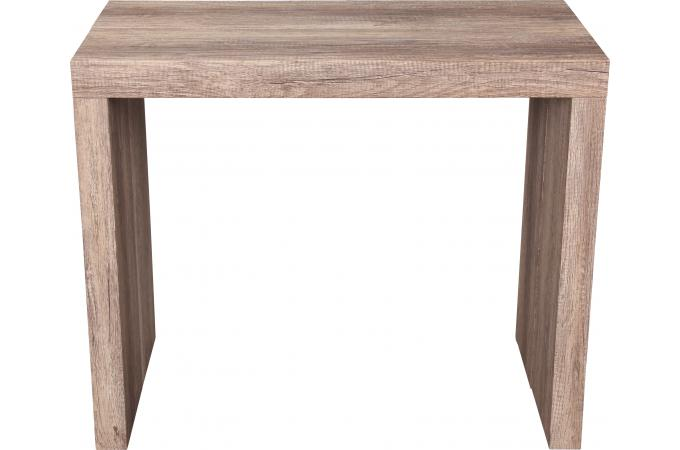 console extensible ch ne 225cm mat audrey design sur sofactory. Black Bedroom Furniture Sets. Home Design Ideas