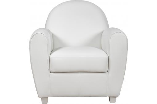 Fauteuil Club Blanc PATRICIA SoFactory