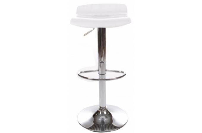 Tabouret de bar blanc smoky design pas cher sur sofactory - Tabouret de bar blanc pas cher ...