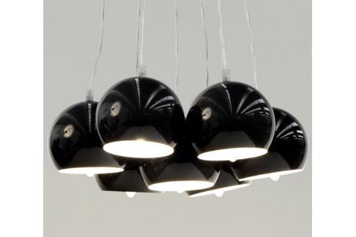 Lustre boule noir theia d co design sur sofactory for Lustre boule noir