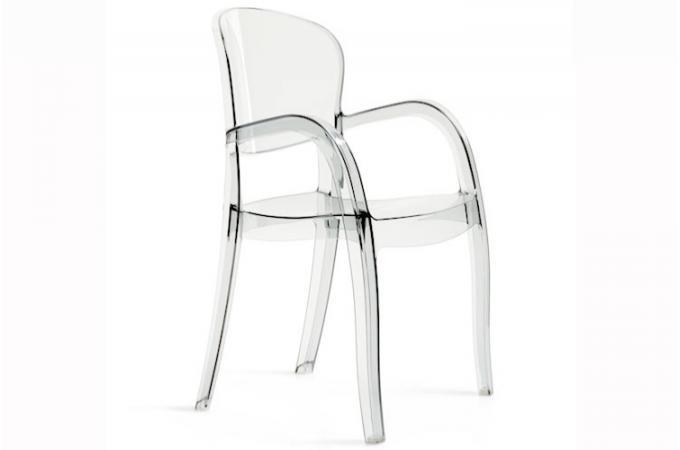 chaise transparente victoria - Chaise Transparente