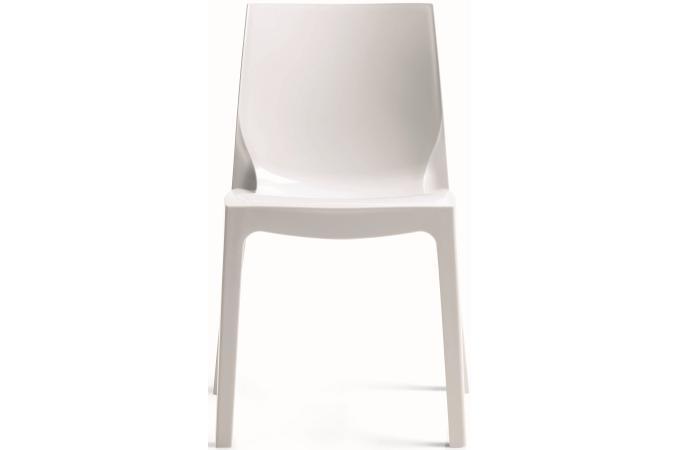 chaise design blanche laqu e vienne design sur sofactory. Black Bedroom Furniture Sets. Home Design Ideas