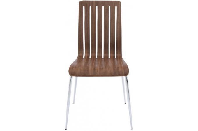 Chaise design en Bois Marron RICHARD design sur SoFactory # Chaise Design En Bois