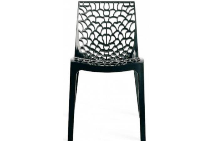 Chaise Design Anthracite FILET