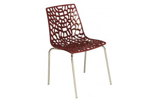 Chaise Rouge TRAVIOLA SoFactory