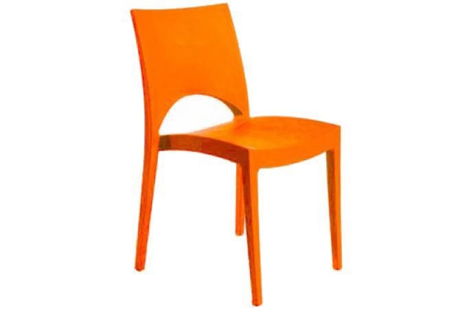 chaise design orange napoli design sur sofactory. Black Bedroom Furniture Sets. Home Design Ideas