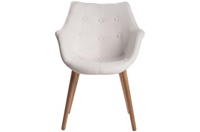 fauteuil blanc massimo design pas cher sur sofactory. Black Bedroom Furniture Sets. Home Design Ideas