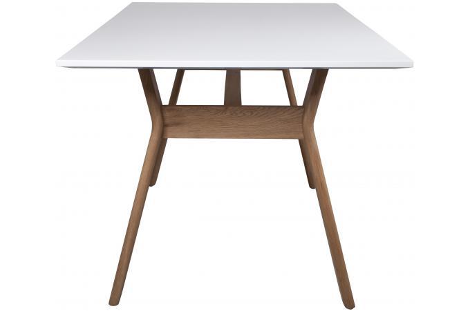 Bureau blanc en bois choo design pas cher sur sofactory for Bureau blanc bois
