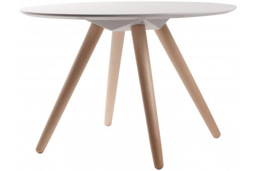 Table d'appoint Blanche en Bois CHARLES