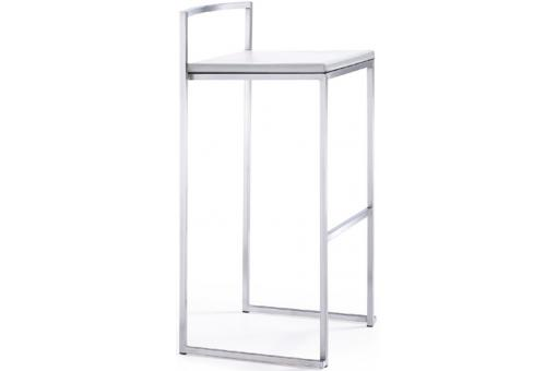 Tabouret de bar blanc JAMES SoFactory